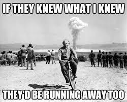 Einstein bikes away memes | quickmeme via Relatably.com