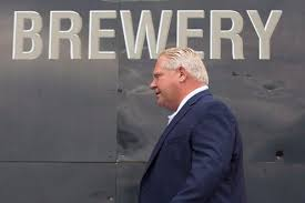 Ford highlighted his work during the presser. Why Doug Ford Should Think Twice About Changing Booze And Weed Laws