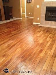 Glossy Floors Concrete That Look Like Wood