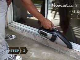 how to clean a patio screen door