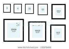 Photograph Sizes Chart Electric Motor Frame Size Chart Com Marathon Picture Sizes