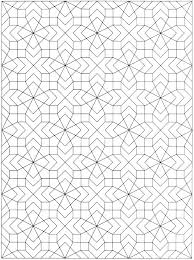Geometric Design Coloring Pages Geometric Designs To Color