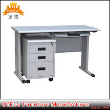 office desk metal. China High Quality Cheap Kd Hot Sale Steel Office Desk With Locking Drawer - Desk, Metal