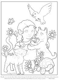 Coloring Sheet Kindness Kindness Coloring Pages Free Acts Of