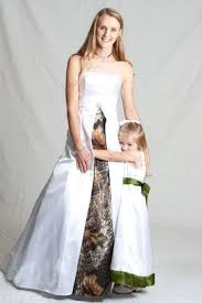 unifying your pure soul with nature in camo wedding dresses