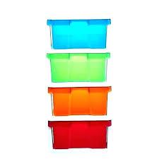plastic cube boxes clear storage bins cubes cubicle light g cube storage boxes