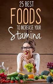 25 Best Foods To Increase Your Stamina