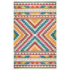 zingaro natural multicolor hand tufted wool 10 ft x 13 ft rectangle area rug