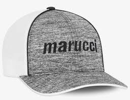 Hat Sizing Chart Marucci Smoke Gray Fitted Hat Small