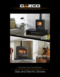 Electricstoves Brochures Wilsons Fireplaces