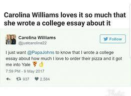 admissions essay about pizza lands university acceptance letter admissions essay about pizza lands her acceptance letter from yale university