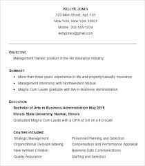 Sample Resume For Fresh Graduate Business Administration Major In