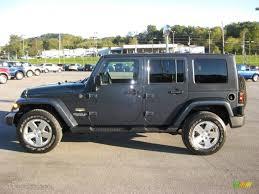 jeep wrangler 4 door dark blue