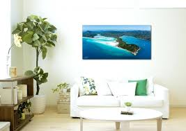hang painting on wall premium acrylic face mount thick beach hill inlet hang picture without damaging