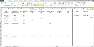 Daily Income And Expense Excel Sheet Report Template Free Printable ...