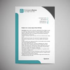 Corporate Letterhead Template Letterhead Template Design Vector Free Download