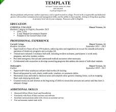 English Resume Template Classy Cashier Experience Resume Examples Resume Template For Cashier