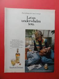 Four Roses Premium American Light Whiskey Amazon Com Four Roses Premium Whiskey 1972 Print