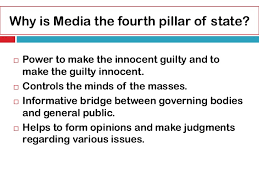 role of media in  8 types of media
