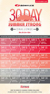 Join Us For The Bowflex Summer Strong Challenge Bowflex