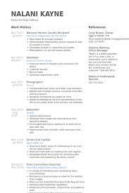 Honors Resume Samples VisualCV Resume Samples Database