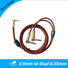 mono jack wiring promotion shop for promotional mono jack wiring 1m 2m 3m 5m bend angle 1 8 stereo jack 3 5mm to dual 6 35mm male 1 4 mono audio cable mixer amplifier speaker wire cords