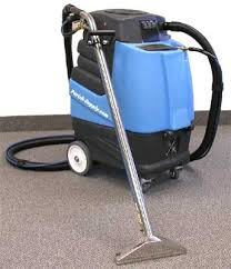 portable carpet cleaning machine in high rise apartments or other instances where a truck mounted cleaner is unsafe or not possible to use