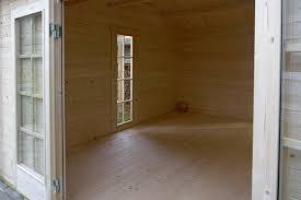 Bis zu 310 x 310 cm. Das Gartenhaus Lausitz 40 Iso Wird Aufgebaut Fotostory