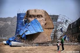 Ugly Drama And Fake Egypt China Sphinx Its Again Head Rears Between 5qIIwO8