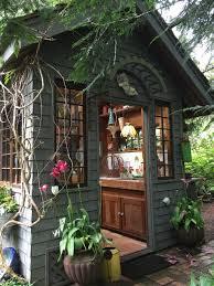 a gorgeous rustic potting shed tour