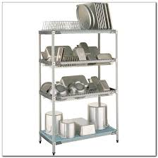 wall mounted commercial dish drying rack