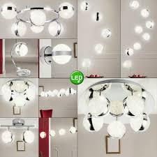 Chrom Leuchte Spot Tisch Hänge Pendel Lampe Decken Led