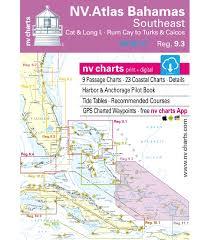 Tide Chart Abaco Bahamas Region 9 3 Bahamas South East Cat Long Islands Rum Cay To Turks And Caicos 2016 17