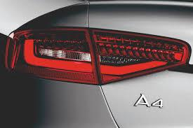 Audi A4 Back Lights 2012 Cuvee Silver Audi A4 Sedan Rear Tail Light Eurocar News