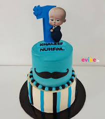 Order Cute Boss Baby Theme Cake Online Birthday Cake In Bangalore