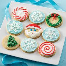 round christmas sugar cookies. Modren Cookies Christmas Circle Cookies On Round Sugar Land Ou0027Lakes