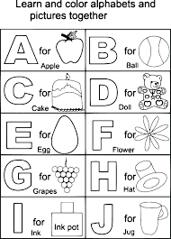 Download Alphabet Coloring Pages A Z Getwallpapersus