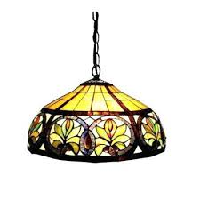 hanging stained glass lights 2 light antique bronze hanging pendant with classic stained glass antique stained glass hanging light fixtures c6017