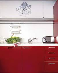 Kitchen designs red kitchen furniture modern kitchen Stainless Red Colors Make Rooms Facing The North Feel Warmer Red Colors Bring Passion And Romantic Atmosphere Into Home Interiors Including Small Kitchen Design Thecubicleviews Modern Kitchen Designs In White And Red Colors Creating Retro