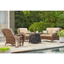 wicker outdoor lounge furniture