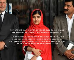 Malala Quotes Unique Another Quote By Malala Yousafzai One Year After Being Shot By The
