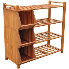 outdoor wooden shoe rack cubby organizer 4 tier new wood cubby storage bins