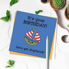 Shipfaced - Small <b>Greetings</b> Card - Paper <b>Panda</b>