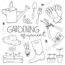 Small Picture Gardening equipment Stock Vector Alexandriaandco 69249413