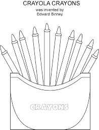 free printable crayon coloring pages crayons box of colouring page