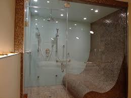 Steam Shower for Three modern-bathroom