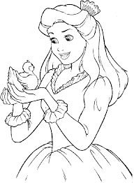Small Picture Disney Princess Coloring Pages Online for Disney Coloring Pages