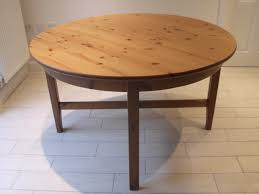impressing round extendable table of ikea leksvik round extendable dining table seats up to 6 cost 200
