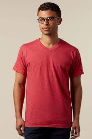 Tultex Size Chart Tultex 207 Unisex Blend V Neck T Shirt Tultex
