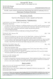 Maintenance Technician Job Description Resume Best of Electrical Technician Job Descriptions Maintenance Description